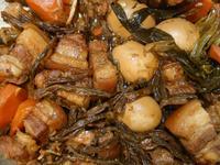長豆菜乾滷五花肉