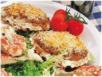 橙香日本咖喱焗蟹蓋