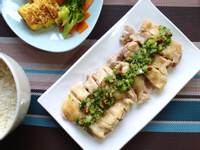 【家常菜】辣蔥油口水雞
