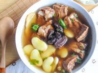 【老菜脯皇帝豆燉軟排湯】養出身體好元氣