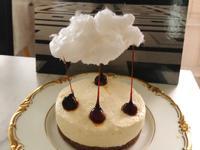 (免烤)棉花糖焦糖榛果乳酪蛋糕
