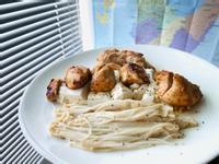 [減脂餐]S11 迷迭香雞胸+金針菇