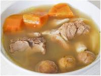 鮮淮山紅蘿蔔瘦肉湯 【清肺潤燥、固腎強身
