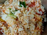 鮭魚番茄炊飯