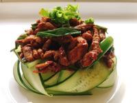京醬肉絲 / 斤餅
