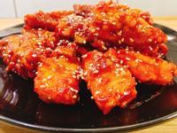 韓式蜜糖炸魚塊