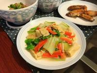 腐乳小白菜炒腐竹|濃郁香甜|營養滿分