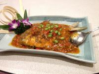 義式茄汁燴鯧魚