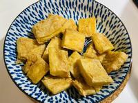 簡單氣炸鍋料理-酥炸椒鹽豆皮 豆腸