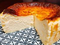 檸檬巴斯克乳酪蛋糕(生酮、無粉、微流心)