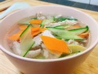 小黃瓜瘦肉湯(減醣料理)