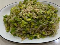 韓式涼拌黑豆芽