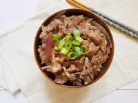 微波版「日式牛丼飯」五分鐘完成、懶人必學
