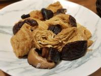 醬燒香菇豆皮🔜十分鐘內上菜