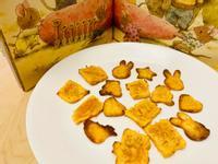 【親子共廚】地瓜脆餅 簡易不髒亂手指餅乾