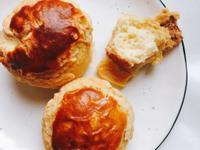 「甜化硬漢心」港式酥菠蘿麵包