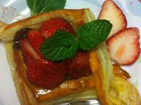酥皮草莓派