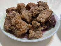 紫薯粉蒸排骨