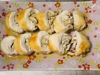 洋蔥蘑菇雞腿捲「洋蔥與蘑菇碰出新滋味」