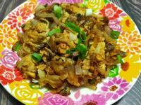 lanni 洋蔥蘑菇炒蛋
