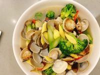 黑木耳蛤蜊燴彩色鮮蔬