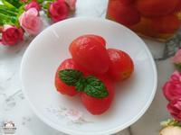 柚香蜜漬小番茄♥開胃、解膩的美味小菜