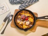超簡易鑄鐵鍋布丁吐司