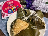 泡菜年糕肉燥麵粽