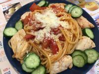 4.雞柳番茄義大利麵