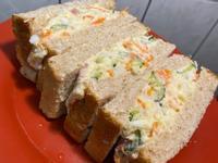 健康早餐❤️馬鈴薯蛋沙拉三明治🥪