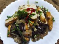 溫沙拉-涼拌木耳豆干片