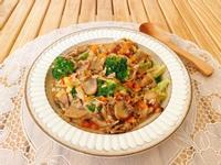 中式蘑菇燉飯|素食