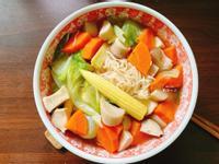 剝皮辣椒味噌麵線|15分鐘上菜素食
