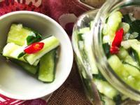 夏天美味─快速涼拌小黃瓜
