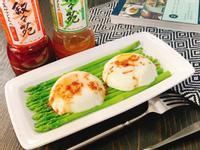 水波蛋佐叙々苑野菜沙拉醬
