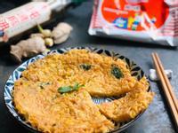 香煎「麻油薑雞蛋炒泡麵」/統一麵肉燥風味