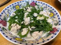 雞丁炒水蓮