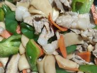 杏鮑菇炒肉片