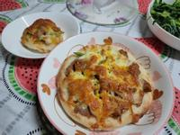 總匯披薩(自製餅皮)