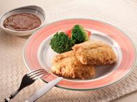 [簡易食譜] 吉列魚排佐蘑菇醬魚排