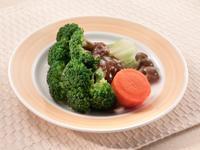 [簡易食譜]全素-清燙青花椰佐黑胡椒醬
