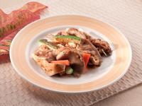 [簡易食譜]全素-黑胡椒醬拌炒杏鮑菇