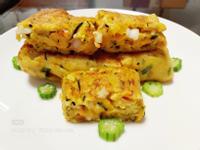 南瓜起司海鮮煎餅(軟嫩口感)