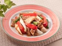 [簡易食譜]全素-蘑菇醬燴豆皮