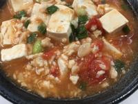蕃茄雞蓉豆腐煲