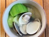 蛤蠣絲瓜濃湯