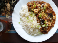 【豆腐料理】麻婆皮蛋豆腐
