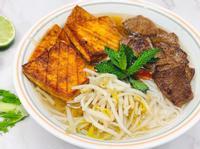 🍜素食越南牛肉湯河粉:湯味濃郁又清甜!