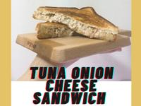 鮪魚洋蔥牽絲三明治🥪