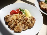 蒜香杏仁炸雞排|氣炸鍋料理、低碳水料理